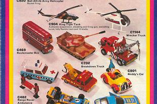 Corgi katalógus 1975