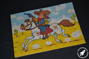 Gyerek puzzle a 80-as évekből