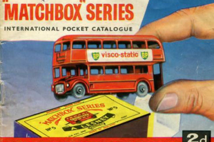 Matchbox katalógus 1961