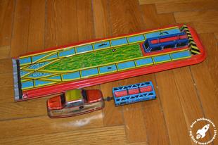 Lemezárugyár Rakodó vonat