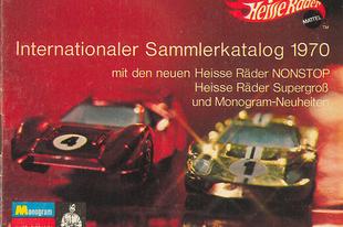 Hot Wheels katalógus 1970