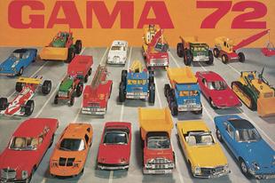 Gama katalógus 1972