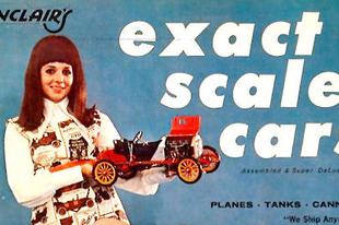 Sinclair Exact Scale Cars 1971 katalógus