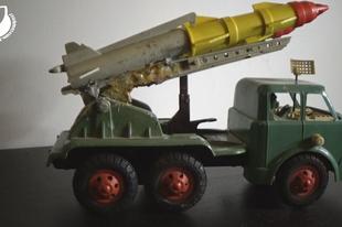 Játékmúzeum TV 208.adás - Szovjet lendkerekes katonai teherautó