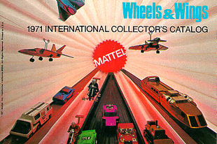 Mattel Wheels and Wings 1971