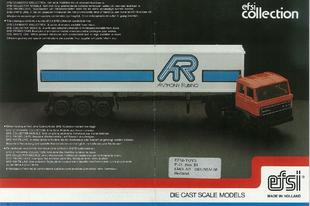 Efsi Toys katalógus 1984