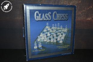 Üvegből készült sakk