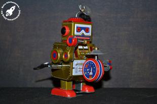 Kínai óraműves robot