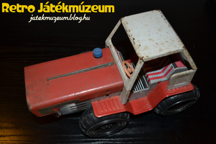 Lemezjáték traktor