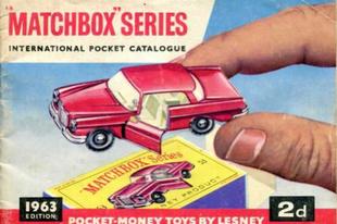 Matchbox katalógus 1963