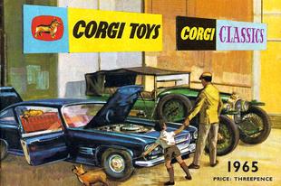 Corgi katalógus 1965