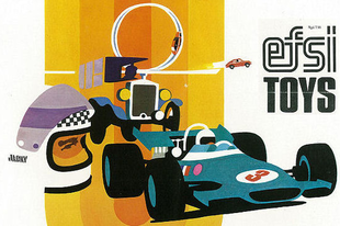 Efsi Toys katalógus 1975