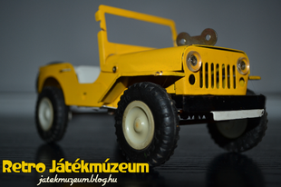 Óraműves ITES Willys Jeep
