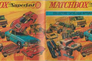 1970-es Matchbox katalógus