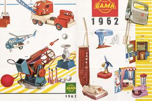 Gama katalógus 1962-1963