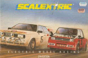 Scalextric katalógus 1986
