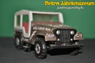 Műanyag Jeep CJ-5