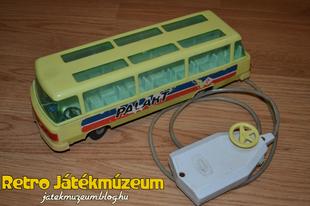 Távirányítós Palart busz
