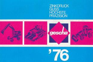 Gescha katalógus 1976