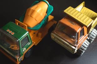 Játékmúzeum TV 236.adás - Szovjet játék teherautók