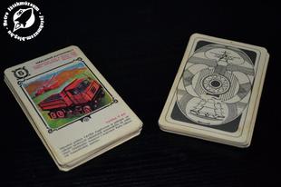 Csehszlovák Közlekedési kvartett kártya