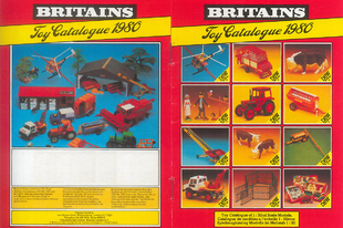 Britains Toy katalógus 1980
