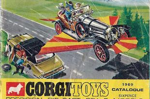 Corgi katalógus 1969