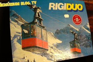 Játékmúzeum TV 200.adás - Lehmann RigiDuo sífelvonó