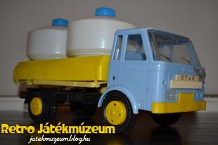 Műanyag Star teherautó