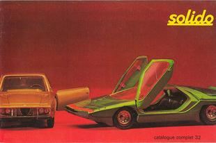 Solido katalógus 1972