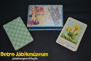 Virágkvartett kártya