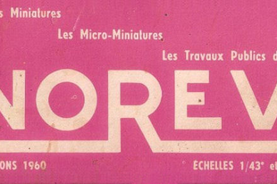 Norev katalógus 1960