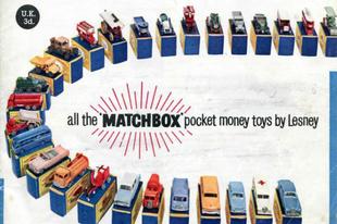 Matchbox katalógus 1960