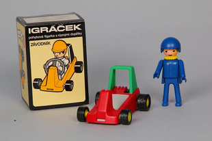 Régi műanyag játékok