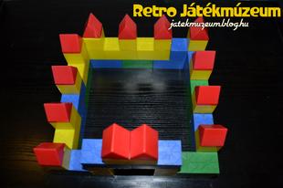 Műanyag építőkocka