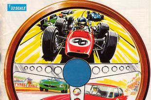 Scalextric katalógus 1968