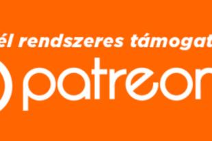 Támogathatsz Patreonnal is!