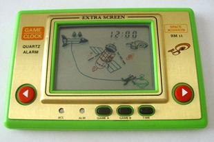 Kézi játékgépek a múltból