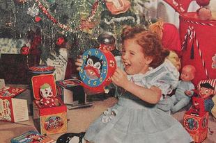 Karácsonyi hangulat régen