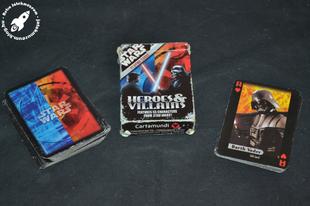 Cartamundi Heroes & Villains kártya