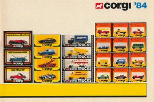 Corgi katalógus 1984