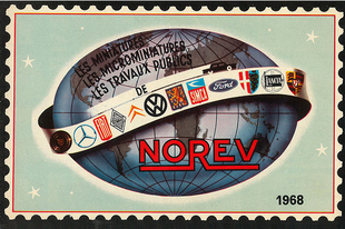 Norev katalógus 1968