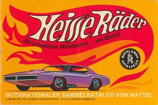 Hot Wheels katalógus 1968