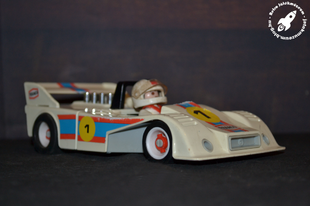 Playmobil 3520 versenyautó