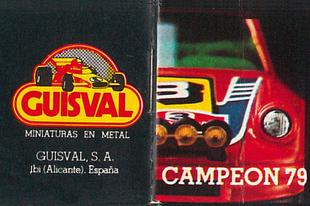 Guisval katalógus 1979