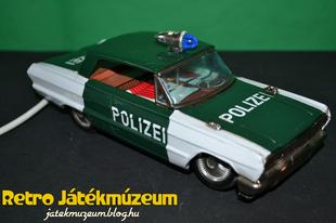 Ichiko távirányítós rendőrautó