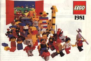 Lego System katalógus 1981