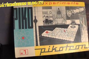 Játékmúzeum TV 202.adás - Pikotron