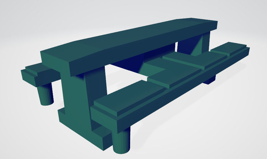 VW LT28 pad 3D-s modellje