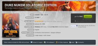 Duke Nukem 3D: Atomic Edition - Csak 2 napig ingyen!